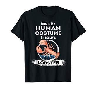 Lobster Halloween Costume T-Shirt This is my Human Costume