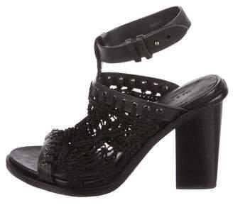 Rag & Bone Woven Ankle-Strap Sandals