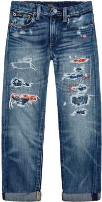 Polo Ralph Lauren Distressed Sullivan Jeans