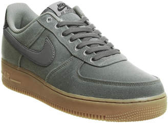 Nike Force One Trainers Flat Pewter Gum