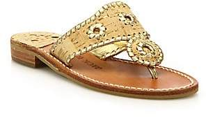 Jack Rogers Women's Napa Valley Cork & Leather Sandals