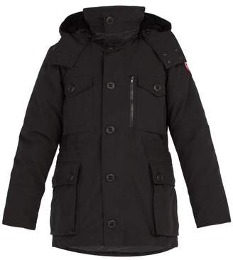5e28aaa8f312 Canada Goose Drummond Hooded Down Parka - Mens - Black