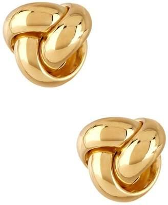 KARAT RUSH 14K Yellow Gold Polished Fancy Love Knot Earrings
