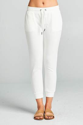 Active Basic Cropped Slim Joggers