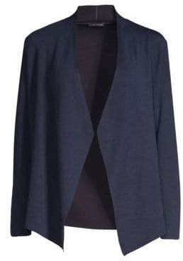 Eileen Fisher Shaped Open Front Cardigan