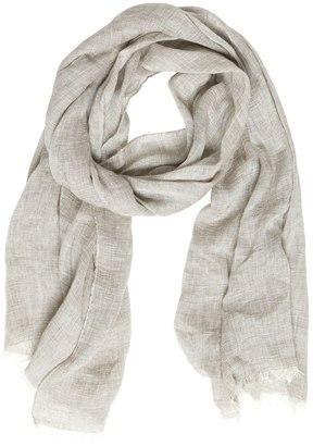 Linen, Silk & Cashmere Woven Scarf