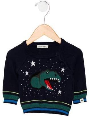 Billy Bandit Boys' Intarsia Dinosaur Sweater