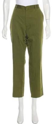 Givenchy Mid-Rise Straight-Leg Pants