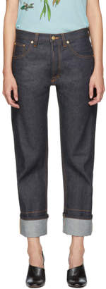 Loewe Indigo Back Detail Jeans
