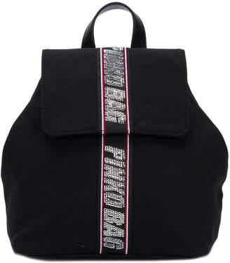 Pinko embellished brand backpack