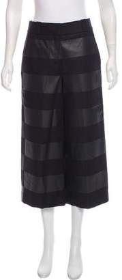 Alexander Wang High-Rise Striped Pant