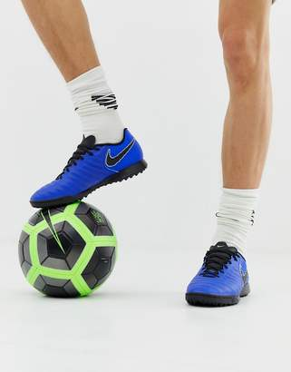 Nike Football Legend X 7 Academy Astro Turf Sneakers In Blue AH7243-400