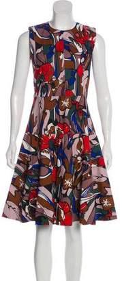 Marni Sleeveless Knee-Length Dress