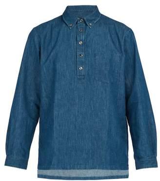 A.p.c. - Aldric Denim Shirt - Mens - Indigo