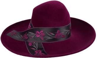 Philip Treacy Large Floral Band Hat