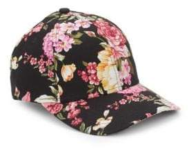 San Diego Hat Company Floral Baseball Cap