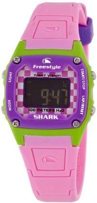 Freestyle (フリースタイル) - [フリースタイル]Freestyle スポーツウォッチ SHARK CLASSIC MID デジタル表示 10気圧防水 ライム×ピンク FS81297 レディース 【正規輸入品】