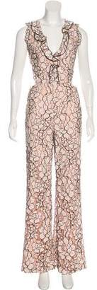 Alexis Lace Sleeveless Jumpsuit