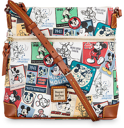 DisneyMickey Thru the Years Large Letter Carrier Bag by Dooney & Bourke