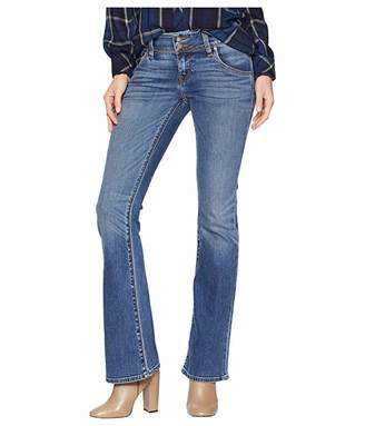 Hudson Jeans Petite Signature Mid-Rise Bootcut in Olympic Blvd