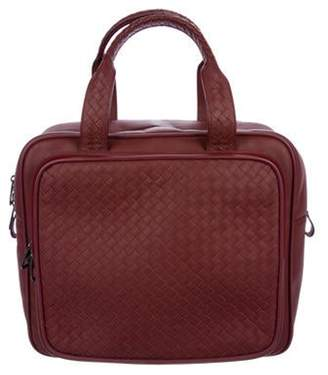 Bottega Veneta Intrecciato Leather Travel Bag Intrecciato Leather Travel Bag