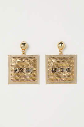 H&M Gold-plated Clip Earrings - Gold