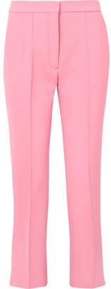 Victoria, Victoria Beckham - Cropped Woven Slim-leg Pants - Pink