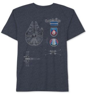 Star Wars Graphic-Print T-Shirt, Big Boys