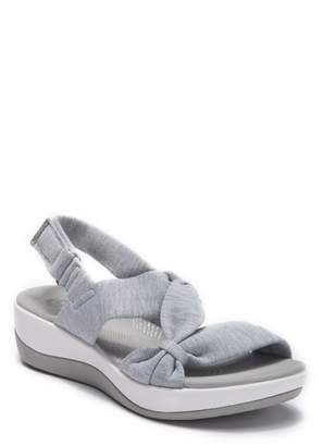 d702225f217 Clarks Gray Cushioned Footbed Women s Sandals - ShopStyle