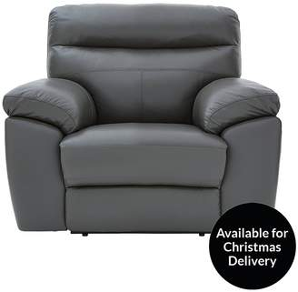 Violino Oxton Leather/Faux Leather Manual Recliner Armchair