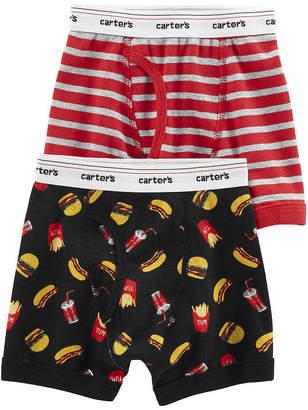 carter s underwear 2 pair boxer briefs preschool boys