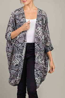 Blvd Cheetah Love kimono