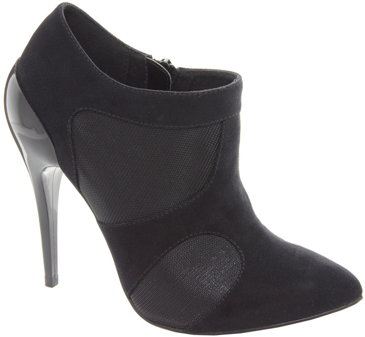Asos TALENT Curved Heel Shoe Boots
