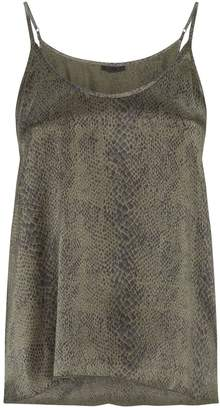 ATM Anthony Thomas Melillo Snake Print Cami Top