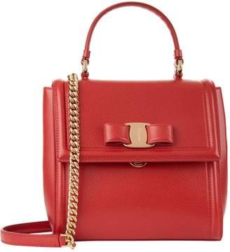 Salvatore Ferragamo Small Leather Carrie Bag