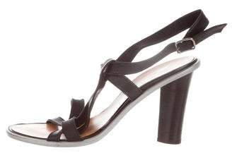Lanvin Leather Multistrap Sandals
