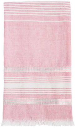Archive New York Stripe Tea Towel - Pink/White