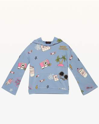 Juicy Couture Doodle Fleece Pullover for Girls