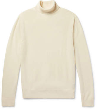 Todd Snyder Slim-Fit Cashmere Rollneck Sweater