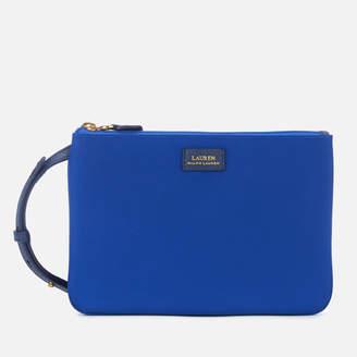 Lauren Ralph Lauren Women's Chadwick Double Zip Medium Cross Body Bag - Cosmic Blue