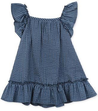 Rare Editions Flutter-Sleeve Seersucker Dress, Baby Girls (0-24 months) $36 thestylecure.com