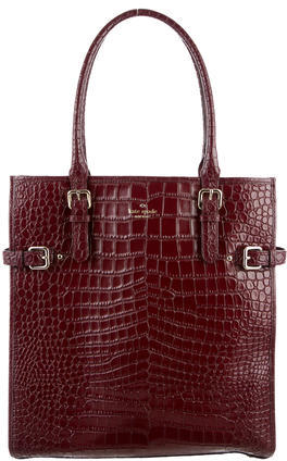 Kate SpadeKate Spade New York Embossed Leather Tote