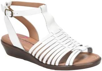 Comfortiva Ankle Strap Huarache Sandals - Farina