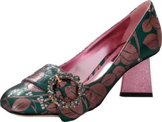 Dolce & Gabbana Jeweled Buckle Diamond Pump