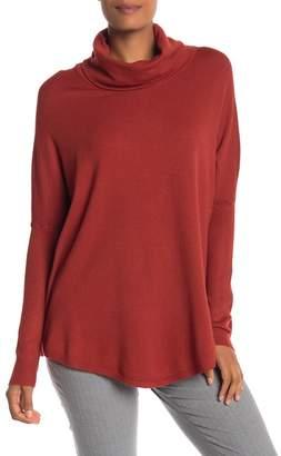 Cyrus Yummy Yarn Cowl Neck Dolman Sleeve Sweater