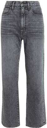Slvrlake Denim London High-Rise Straight Leg Jeans