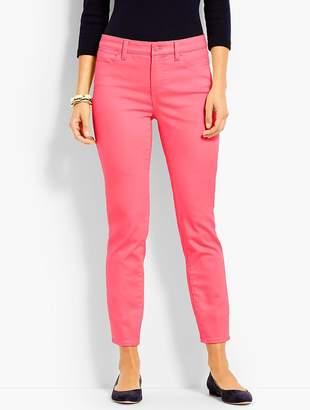 Talbots Colored Denim Slim Ankle Jean