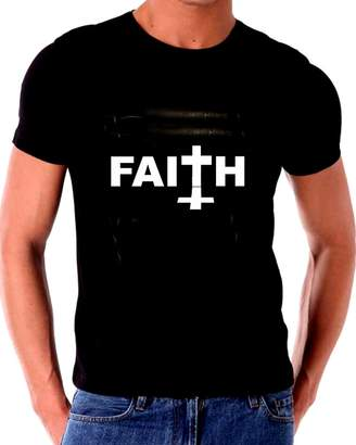 Gatsbe Exchange Unique T Shirts FAITH - T shirt JESUS SAID FAITH OF A MUSTARD SEED IS ALL YOU NEED