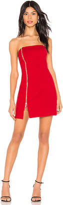 by the way. Melodie Strapless Zip Dress