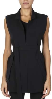 Maison Margiela Black Vest Jacket Model